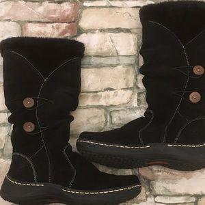 Baretrap Esha Black Boots Women's Size 7.5 M.